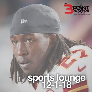 The 3 Point Conversion Sports Lounge- Kareem Hunt's NFL Future, Championship Saturday, Weird NBA Season, Wilder vs. Fury, Injury Report