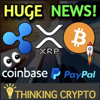 Ripple To IPO After SEC XRP Lawsuit Says SBI CEO & Coinbase Allows Crypto Purchases With PayPal!
