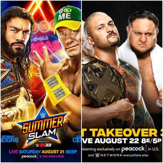 TV Party Tonight: SummerSlam (2021) and NXT TakeOver 36