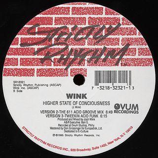 Wink - Higher State Of Consciousness (Original Tweekin' Acid Funk Mix)