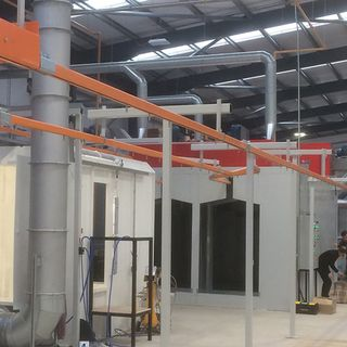 Paint Spray Booths & Metal Finishing Equipment For Sale