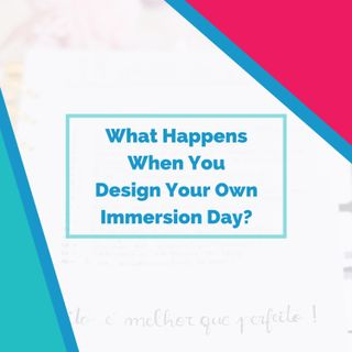 What Happens When You Design Your Own Immersion Day?