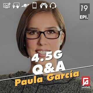 Lo que debes saber de la red 4.5G con Paula García de América Móvil.