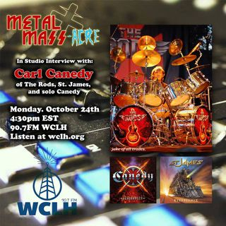 Carl Canedy THE RODS In-Studio Interview