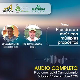 Programa CampoLimpio del 10 de octubre (Híbrido maíz)