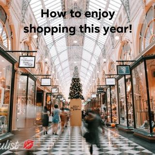 You can enjoy holiday shopping! Ep. 161