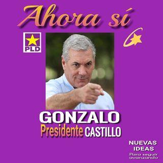 ¡GONZALO PRESIDENTE!
