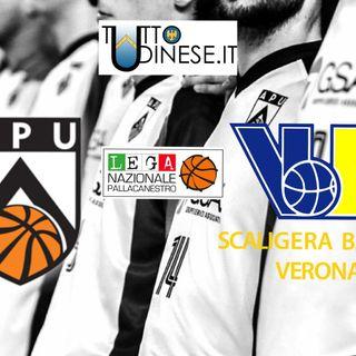 DIRETTA BASKET - GSA Udine-Tezenis Verona