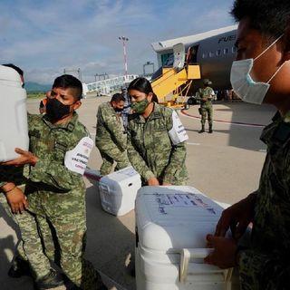 Llegan a Chiapas 300 mil vacunas contra la Covid-19