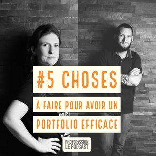 5 Choses a faire pour avoir un portfolio efficace