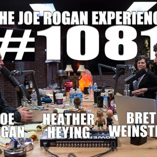 #1081 - Bret Weinstein & Heather Heying