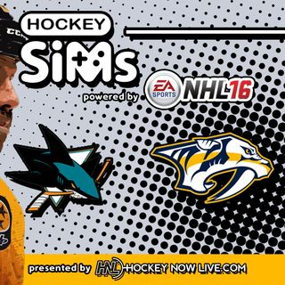 Sharks vs Predators: Game 6 (NHL 16 Hockey Sims)