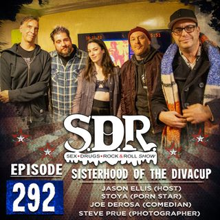 Jason Ellis, Stoya, Joe DeRosa & Steve Prue (Host, Porn Star, Comedian & Photographer) - Sisterhood Of The Diva Cup