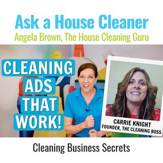 Cleaning Ads that Work and Get the Phone to Ring -  Carrie Knight