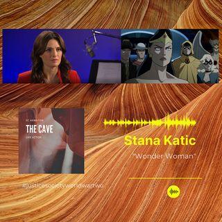 Stana Katic On Voicing Wonder Woman