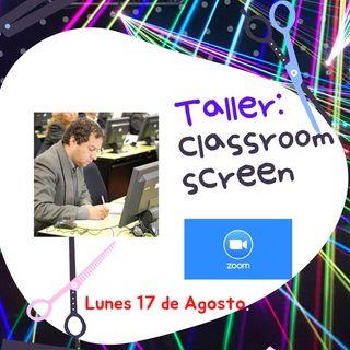 Taller Classroom screen pt 2