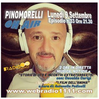 """Pino Morelli On Air"" Puntata n.33 del 9-9-19"