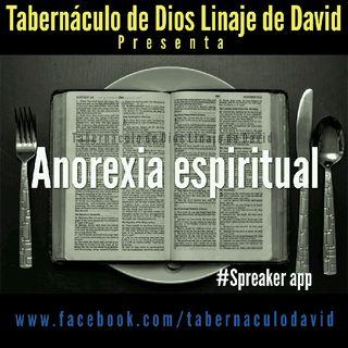006 Anorexia espiritual