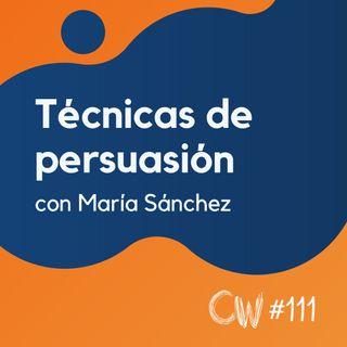 Más ventas en tu eCommerce con estas técnicas de persuasión, con María Sánchez #111