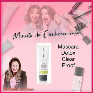 Máscara Detox Clear Proof Mary Kay