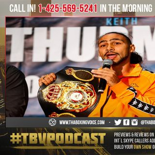 "☎️Biggest Fight of the Year ""No VADA"" Testing🤦🏿‍♂️Pacquiao vs Thurman😱Safety First?????🤔"