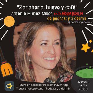 Zanahoria, huevo y café. Rocío Iglesias