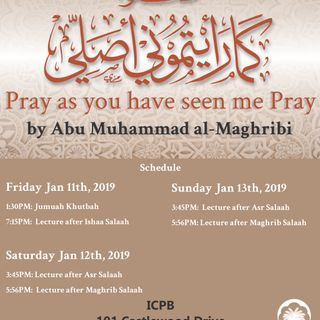 Pray as you have seen me Pray Workshop