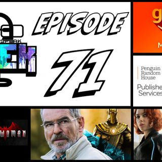 Episode 71 (Black Widow, Amazon Games, Marvel Comics and more)