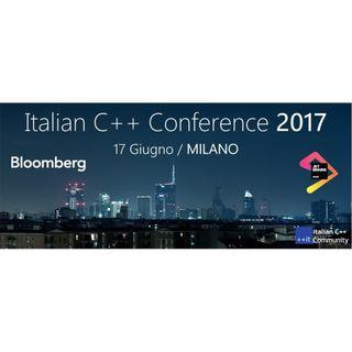 Italian C++ Conference 2017 - Marco Arena