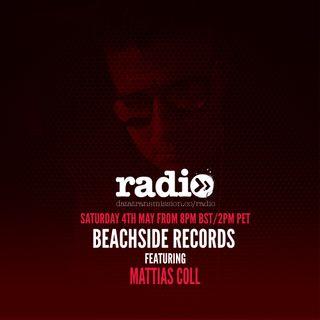 Beachside Records Radioshow Episode # 014 by Mattias Coll