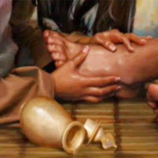 Namaszczenie Jezusa w Betanii - Tomasz Guńka