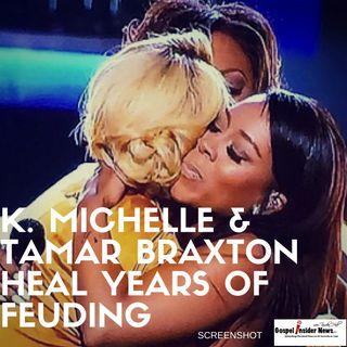 K.Michelle and Tamar Braxton Squash Beef