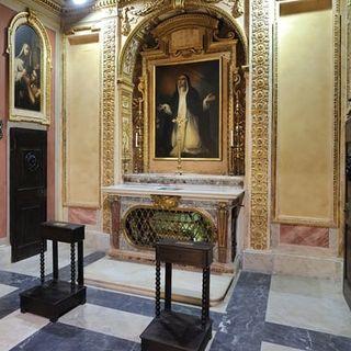 32 - La Cappella del Transito di Santa Caterina da Siena