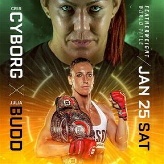 Preview Of The Bellator 238 On Dazn Card Headlined By Julia Budd-Cris Cyborg For The Bellator Featherweight Title On Sky Sport's And DaznUSA