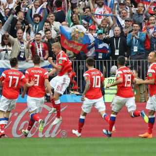 S2M: World Cup Day 1:  Russia Blows Out Saudi Arabia 5-0