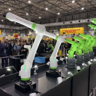 I nuovi robot collaborativi di Fanuc e l'ascesa della robotica mobile