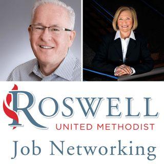 Jay Litton and Katherine Simons, RUMC Job Networking