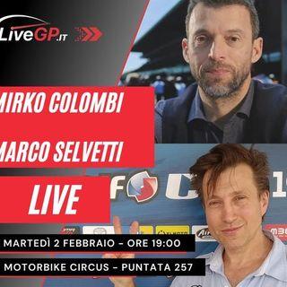 LIVE con Mirko Colombi | Motorbike Circus - Puntata 257