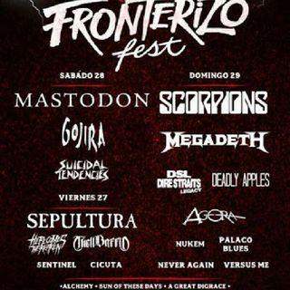 FRONTERIZO METAL FEST 2018/TECATE MÉXICO METAL FEST 6 DE OCTUBRE 2018 FREDY METAL SHOW #81 COMPARTE ESTE VIDEO
