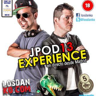 Jpod13 Experience