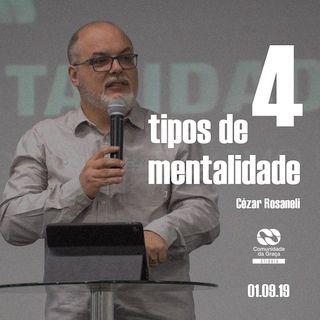 4 tipos de mentalidade