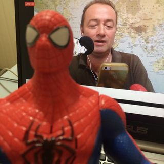 Using the Spreaker Studio app on an iphone: The BIG Spider-Man Interview