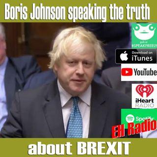 Morning moment Boris Johnson Brexit comment Nov 27 2018