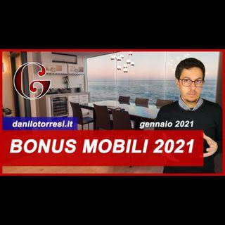 BONUS MOBILI 2021 (ed elettrodomestici) come funziona e quale ristrutturazione è riconosciuta