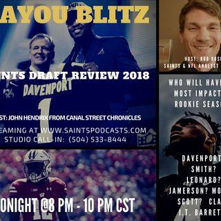 Bayou Blitz: Saints 2018 Draft Review