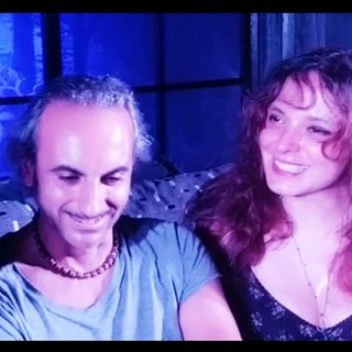 Olga Cristina Manca e Omar Zarino in piemontese #staserachesera Trino Il Teatro Abitato!