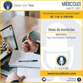 Ideas de mentorias