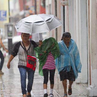 Lluvias fuertes y con tormentas en Veracruz, Tabasco, Chiapas y Oaxaca.