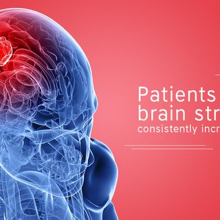 Patients with brain stroke are consistently increasing in India