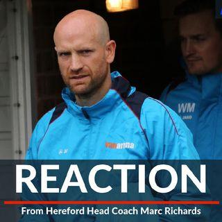 Marc Richards on Cinderford defeat